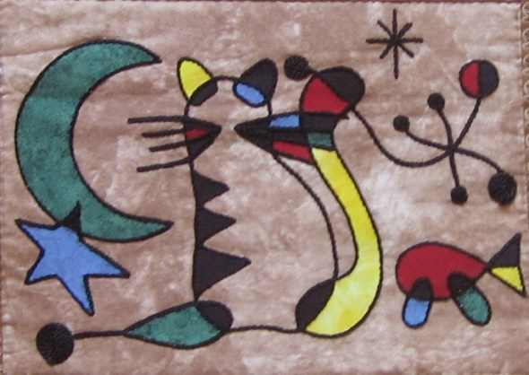 Joan Miro, Chats