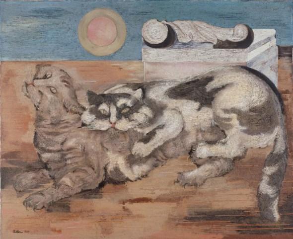 Katzen, Jankel Adler, 1927