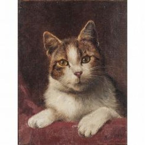 Portrait of Cat, Wilson Hepple