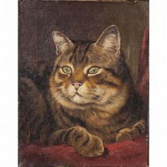 Portrait of a Tabby Cat, Wilson Hepple