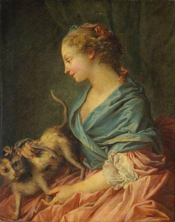 François Boucher, Les caresses dangeureuses, ca. 1730-1732, Oil on canvas