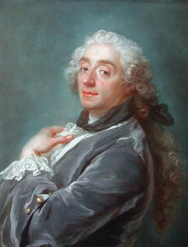 Portrait of Francois Boucher by Gustav Lundberg, 1741.