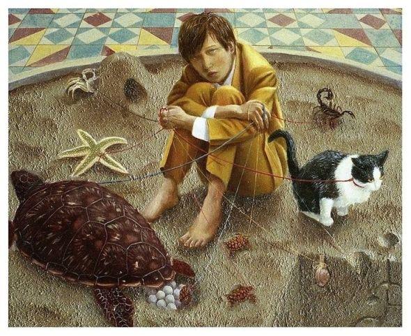 Tokuhiro Kawai, Sandman 2005 cat art