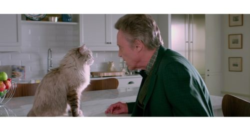 Cats in Film -- Nine Lives (2016) Christopher Walken and Fuzzypants Nine Lives (2016) Movie