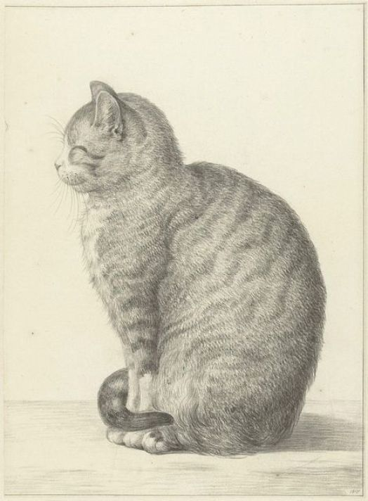 Jean Bernard (1765-1833), Smiling Cat