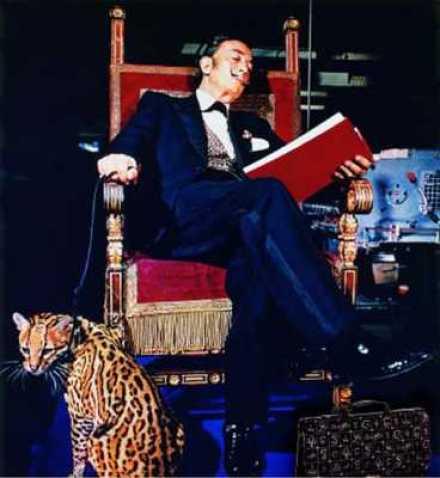 Salvador Dalí and Babou, Dali cat