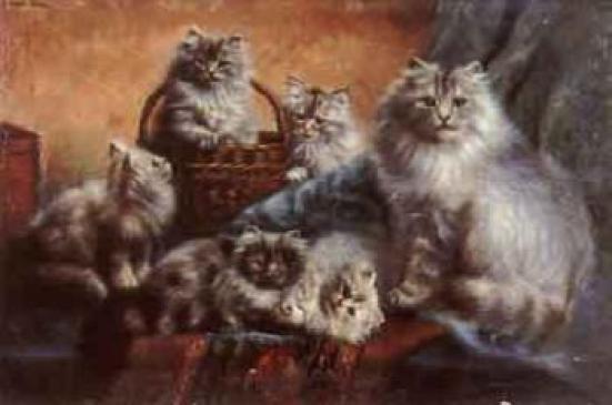 A Happy Family, Agnes Augusta Talboys