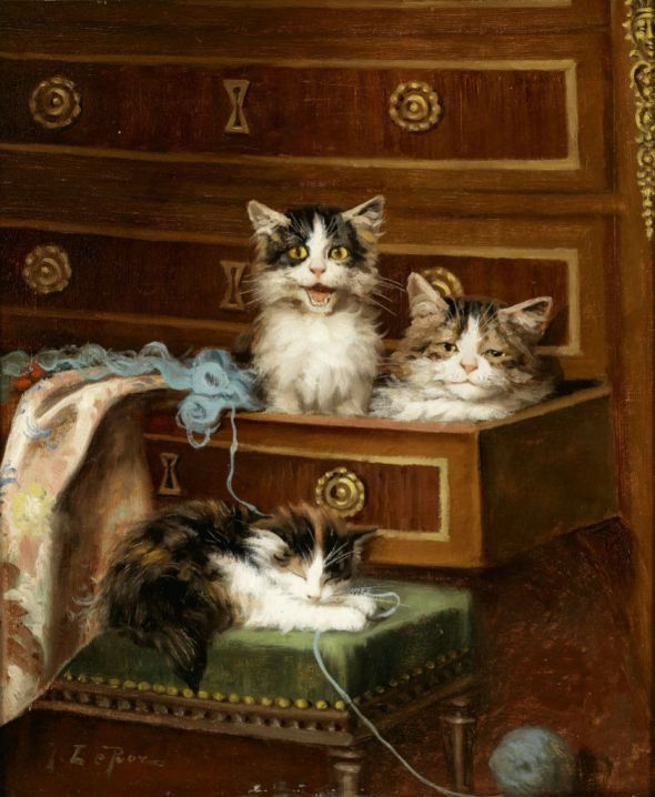Jules Le Roy, In the Chest of Drawers