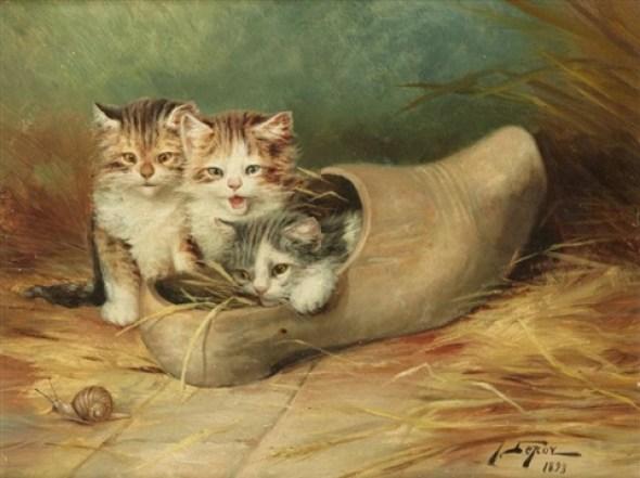 Jules Le Roy, Kittens in a Shoe