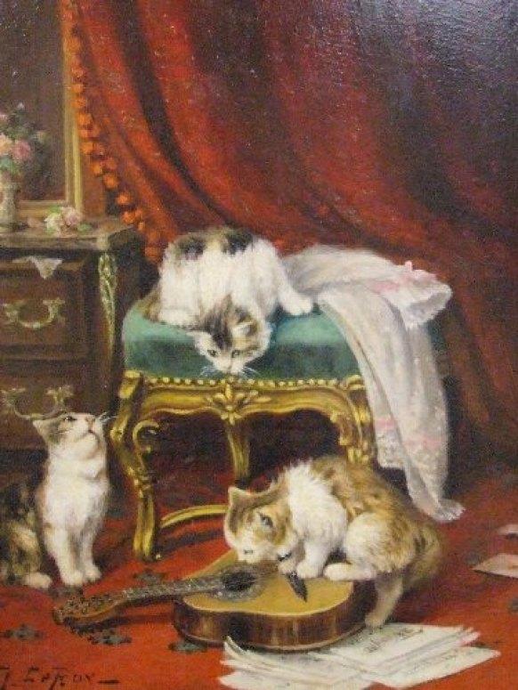 Jules Le Roy, The Music Lesson