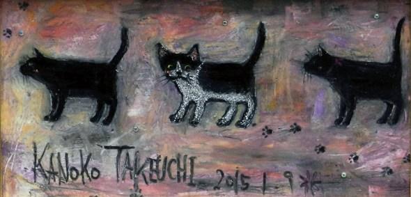 Kanoko Takeuchi, 3 cats