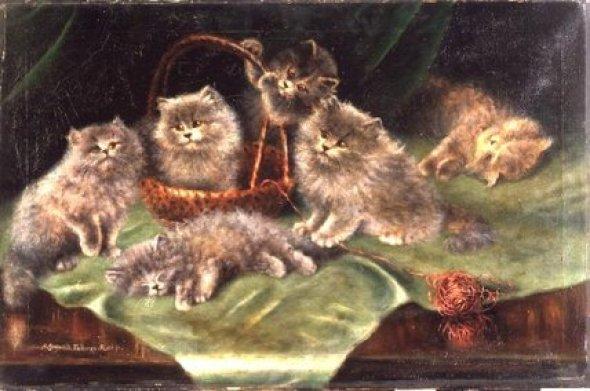 Six Kittens, Agnes Augusta Talboys