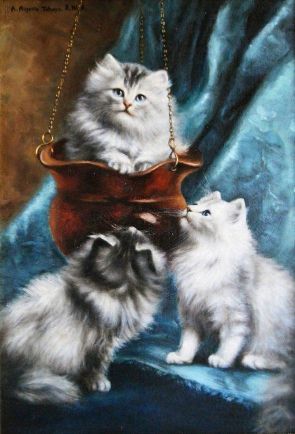 Three Kittens, Agnes Augusta Talboys