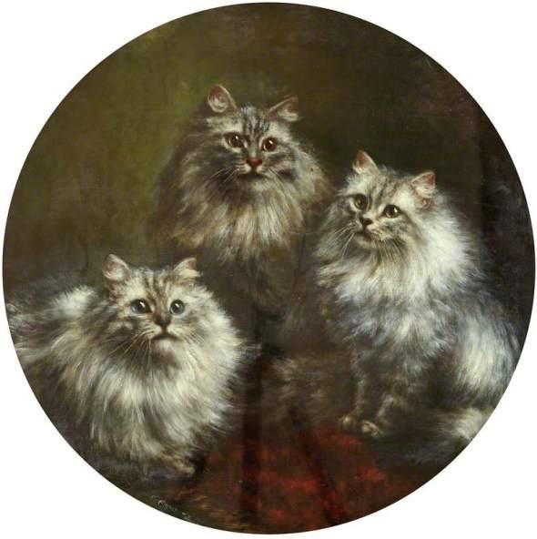 Three of Us, Cats Agnes Augusta Talboys
