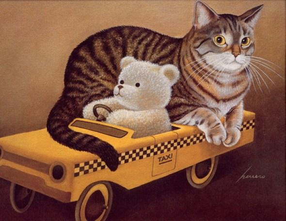 Lowell Herrero, Taxi Cat
