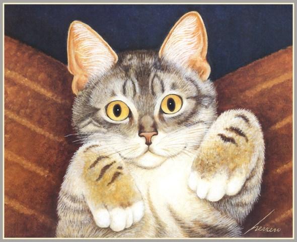 Tabby Cat, Lowell Herrero