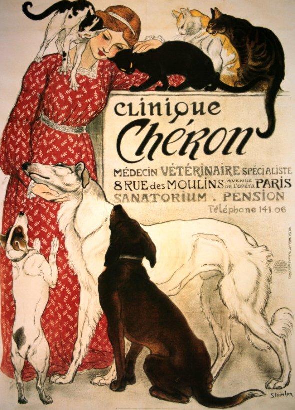 Vet poster Théophile-Alexandre-Steinlen
