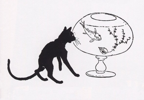 Theophile Steinlen, 1890 cats