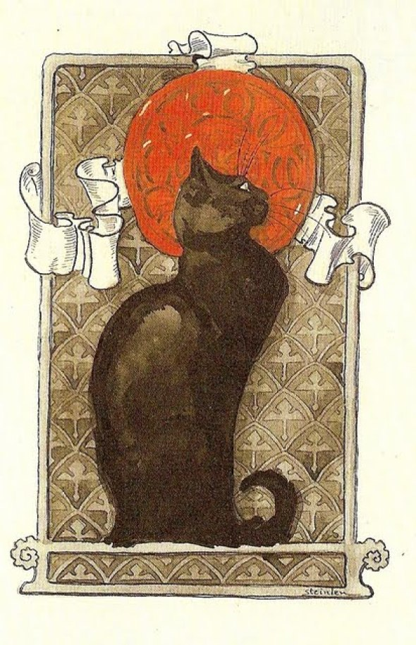 Theophile Steinlen, Black Cat Poster