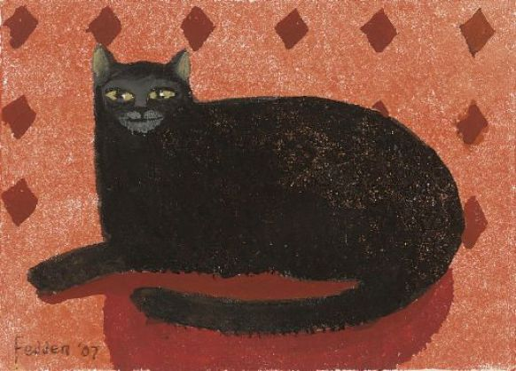 Black Cat2, Mary Fedden