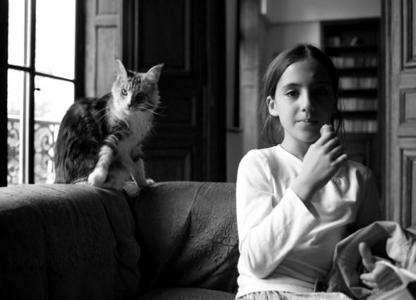 Ferdinando Scianna Sofia and the Cat 2006