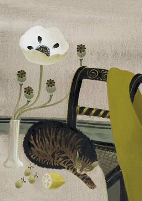 'Sleeping Cat' by Mary Fedden
