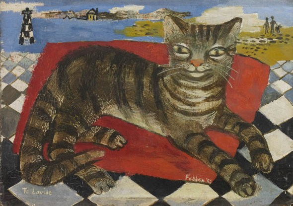 Tabby Cat, Mary Fedden