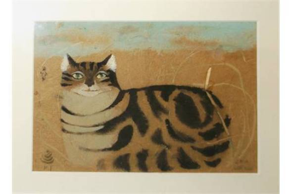 Tabby Cat2, Mary Fedden