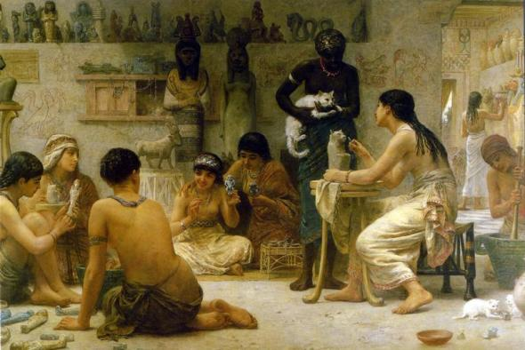 The gods and their makers 1878 Edwin Longsden Long