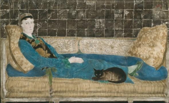 Foujita, 1922, Portrait of Emily Crane Chadbourne