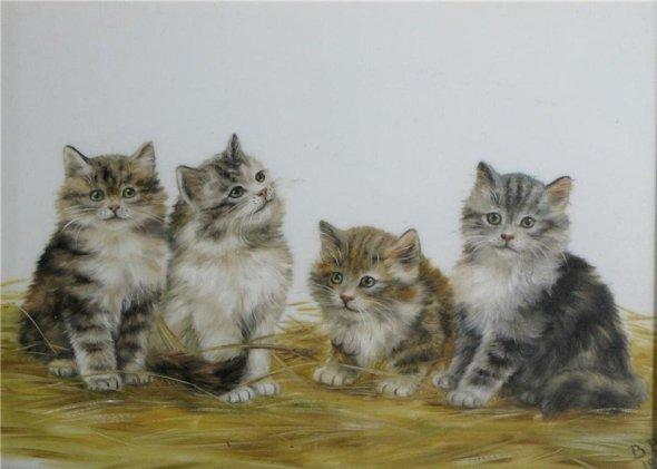 Four Kittens, Bessie Bamber