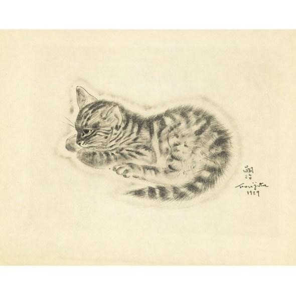 Kitten, 1929 Foujita