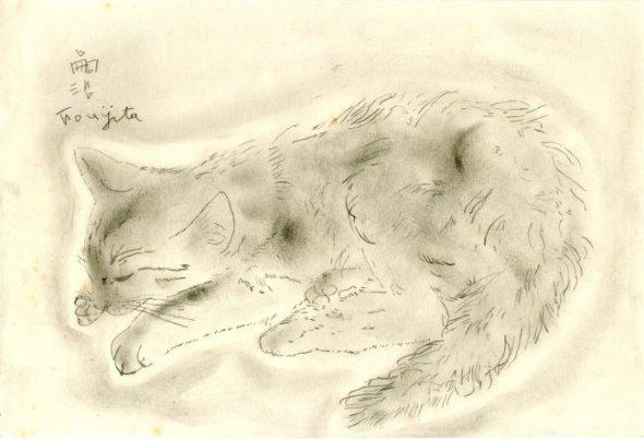 Kitten, Leonard Foujita