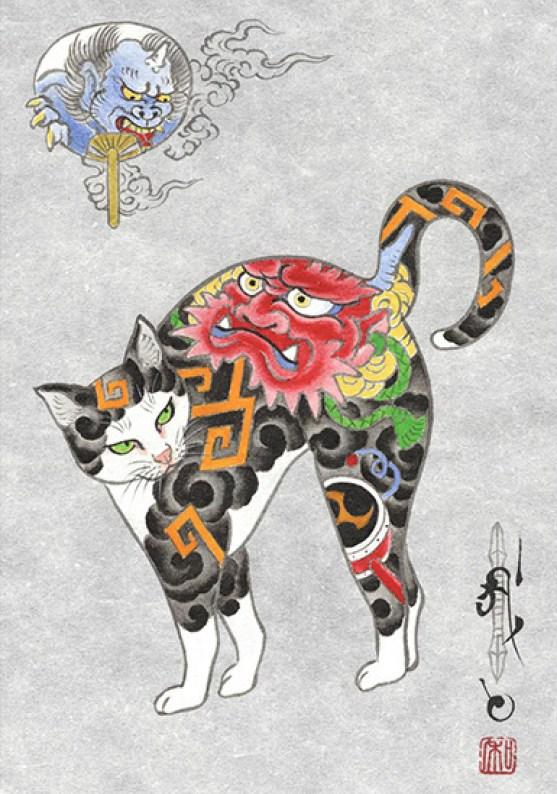 Kazuaki Horitomo Kitamura, Monmon Cats 39