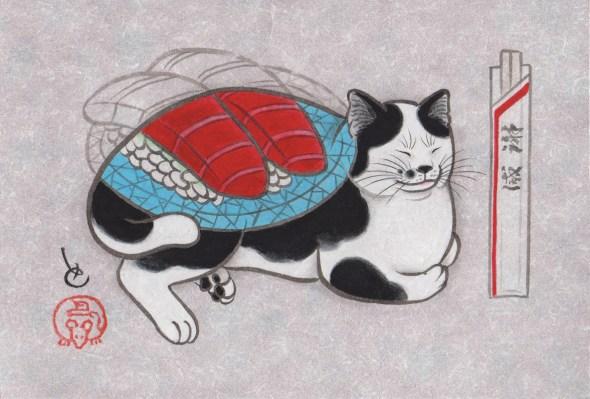 Kazuaki Horitomo Kitamura, Monmon Cats 9