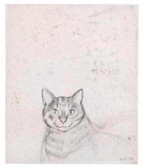Will Barnet Untitled, 1984. probably Minou
