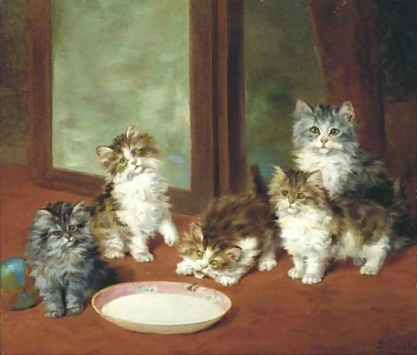 Waiting-For-Dinner Daniel Merlin private collection
