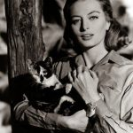 Capucine and cat, famous cat lovers
