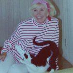 Doris Day and cat