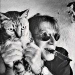 Jacques Dutronc and cat, famous cat lovers