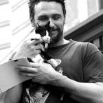 James Franco and cat, famous cat lovers