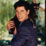 John Travolta and cat, famous cat lovers