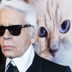 Karl Lagerfeld and Choupette, famous cat lovers-fashion celebrities