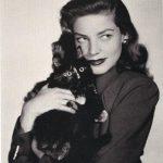 Lauren Bacall, famous cat lovers