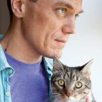 Michael Shannon and cat