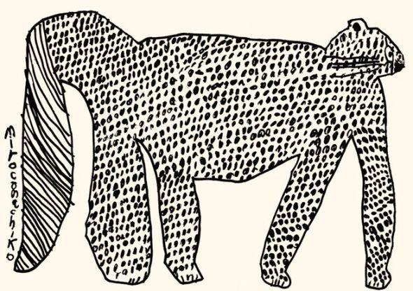 Miroco Machiko, Black and White Cat