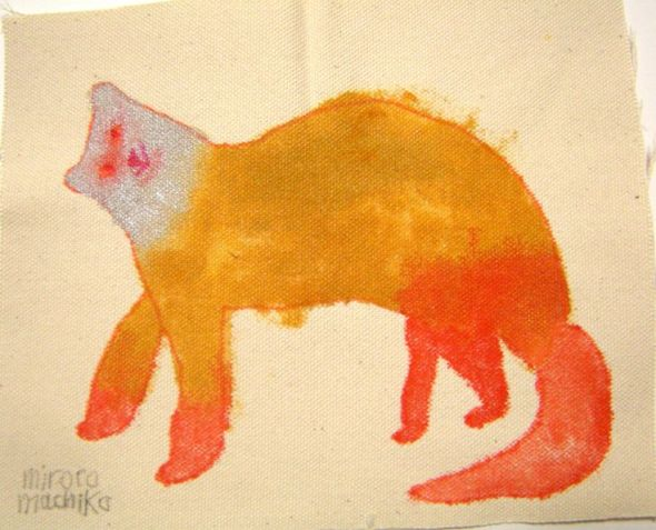 Miroco Machiko, Orange cat