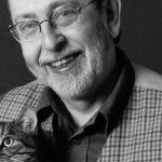 Alain de Benoist and cat