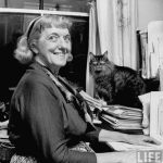 Clementine Paddleford (food writer) and cat
