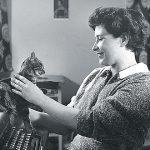 Doris Lessing and cat2